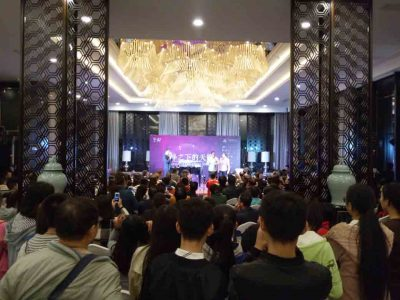 Beate Gracher : Abenteuer China